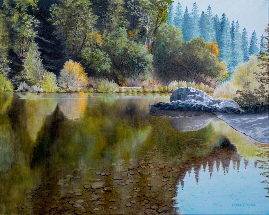 Lessa Clayton, Painting